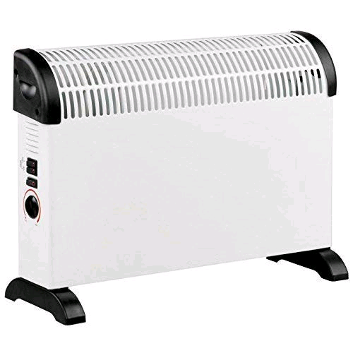 Daewoo Convector Heater 2000w 3 Heat Settings Thermostatic Control