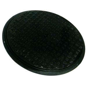 Floplast Cast Iron Cover c/w Plastic Frame SOIL