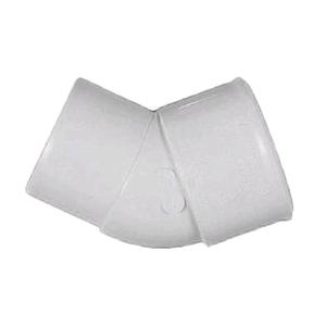 Floplast Wastepipe 40mm Optuse Spigot Bend Solvent Waste
