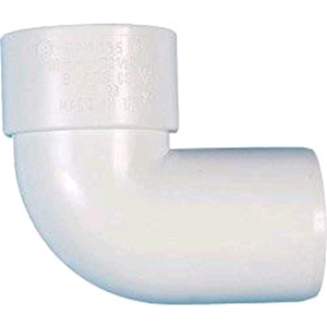 Waste 40mm Swivel Bend Solvent Weld