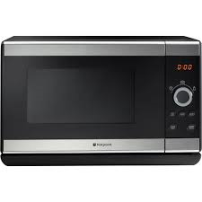 Hotpoint 25Ltr Microwave Silver Basic Manual Controls