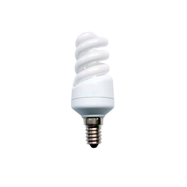 Bell Low Energy Mini Spiral 9w SES