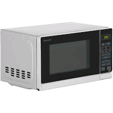 Sharp 20L 800w Freestanding Microwave Oven - White