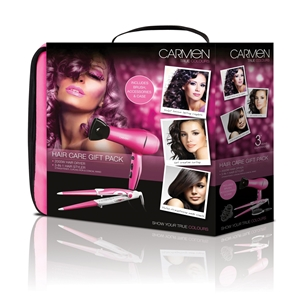 Carmen Ladies Hair Care Gift Pack 3 In 1 PINK