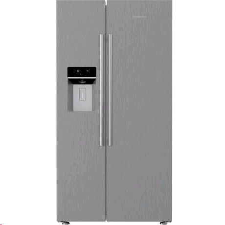 Blomberg American Style Fridge Freezer Side By Side Non Plumbed Water/Ice Dispenser