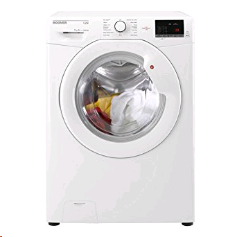 Hoover Link with One Touch,7kg 1400spin Washing Machine White  A+++ Slim depth