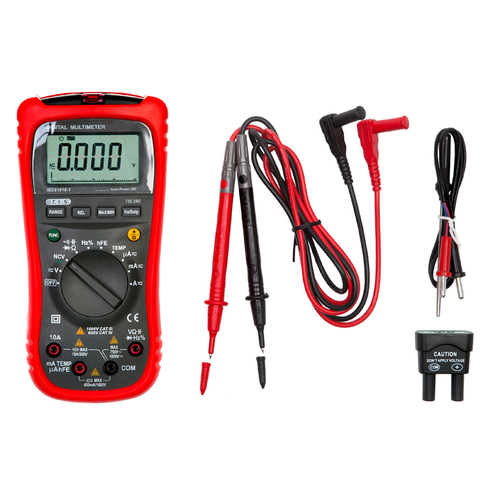 TIS Auto Ranging HD Multimeter