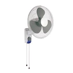 """CED 16"""" Wall Pull Cord Fan 3Speed"""