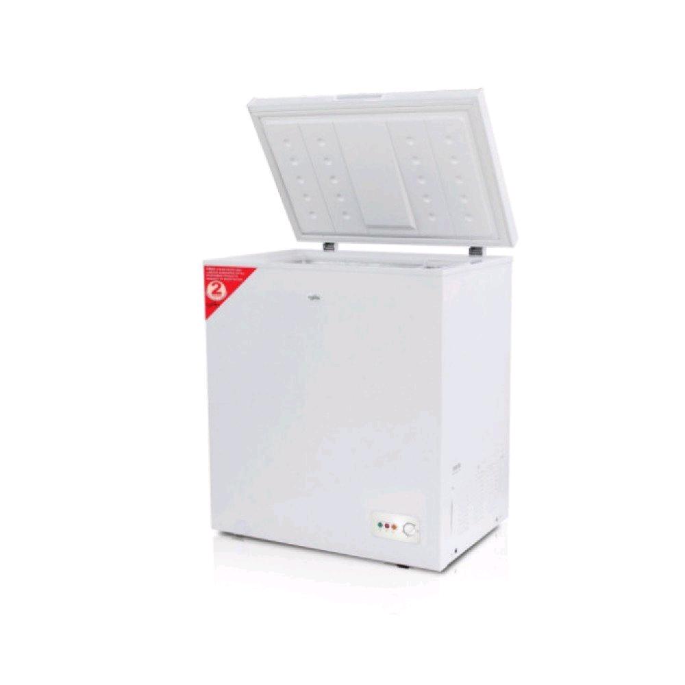 Statesman CHF150 Chest Freezer 150Ltr White (H)850 mm x (W)730 mm x (D)523 mm, Weight 31KG