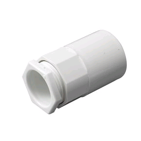 Falcon Conduit Female Adaptor 25mm White
