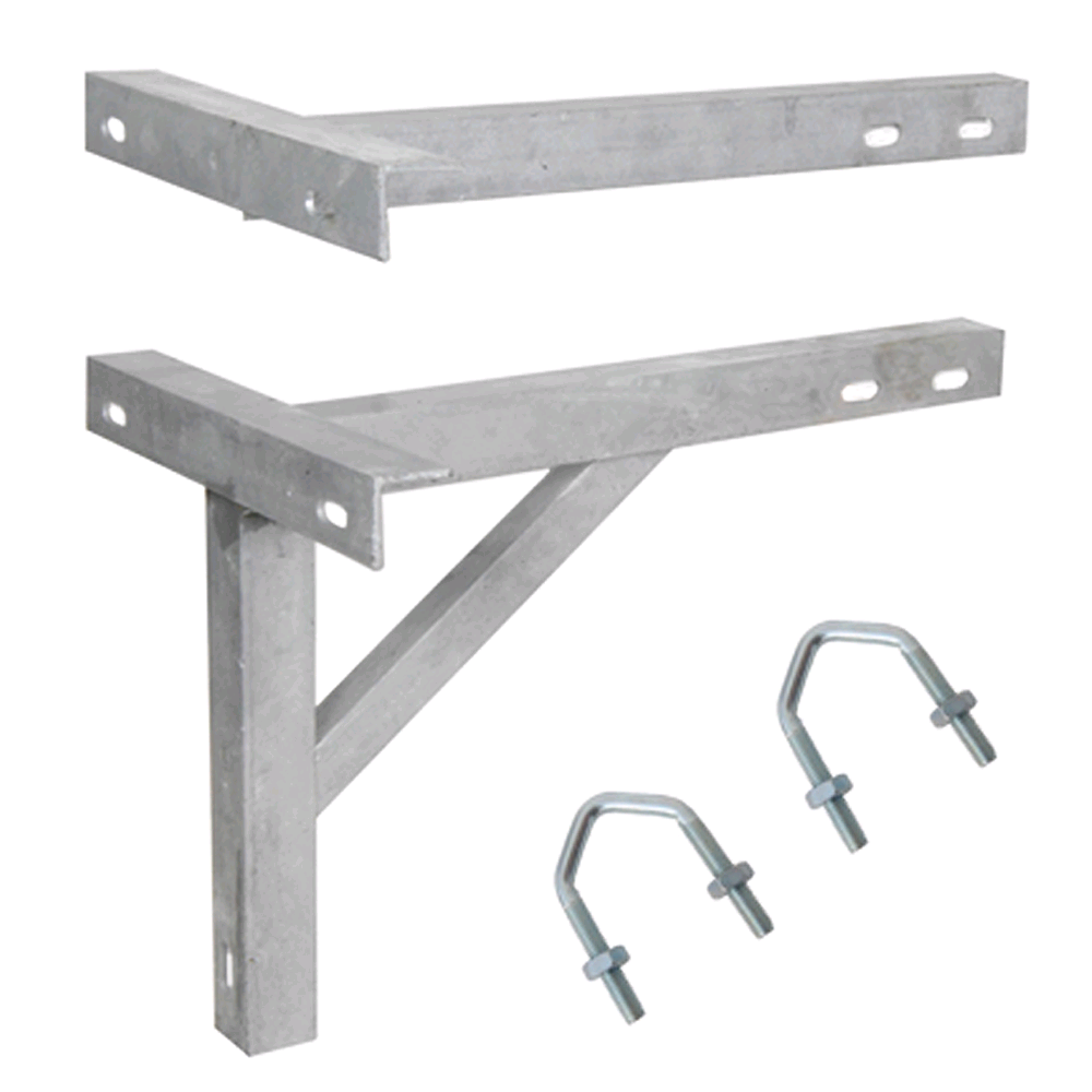"Maxview T+K Bracket 16"" Galvanised"