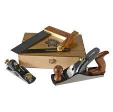 Faithfull 4 Peice Plane & Woodworking Set