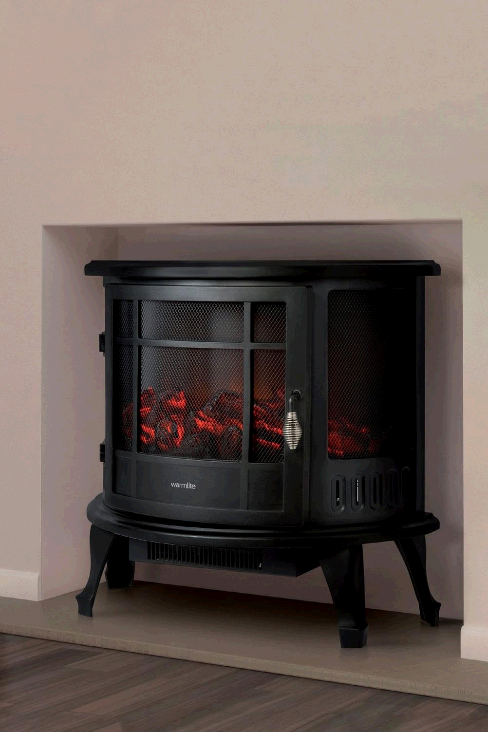 Warmlite WL46017 1800W Log Effect Curved Stove Fire