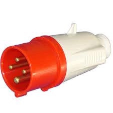 Gewiss 16a 415V 3P+E Plug IP44