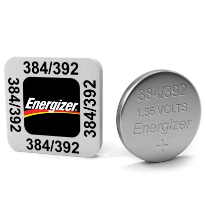 Energizer 384 1.55v Button Cell Battery (SR41SW)