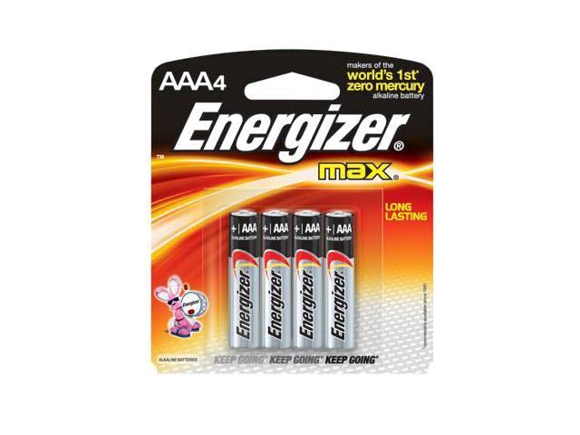 Eveready AAA Super Zinc Battery 4card Box 12
