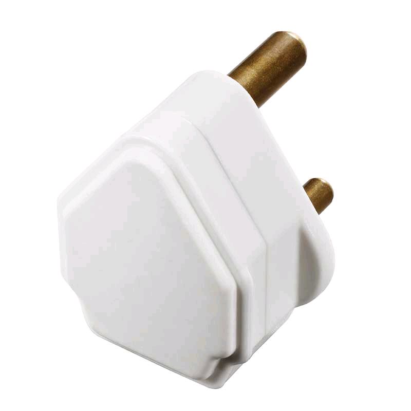 BG 5a 3Pin Plug White