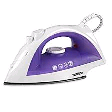 Tower Steam Iron Purple/White 2000w