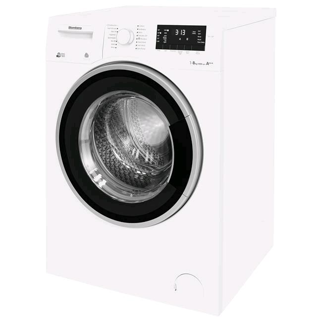Blomberg Washing Machine 8kg 1400 Spin Speed c/w Inverter Motor Slimline