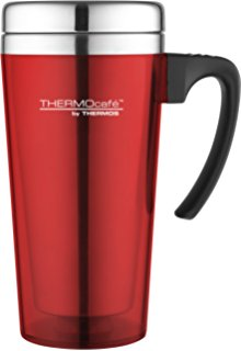 THERMOS 187122 SOFT TOUCH TRAVEL MUG RED 400ML