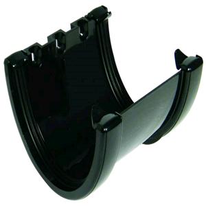 Floplast Hi-Cap 115mm Union Bracket Black RUH1