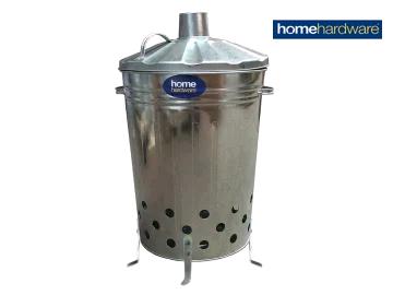 Home Hardware 2577315 Galvanised Incinerator for Garden Refuse