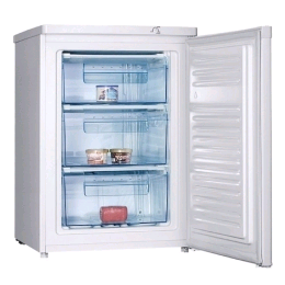 Ice King Undercounter Freezer white H850 W600 D605