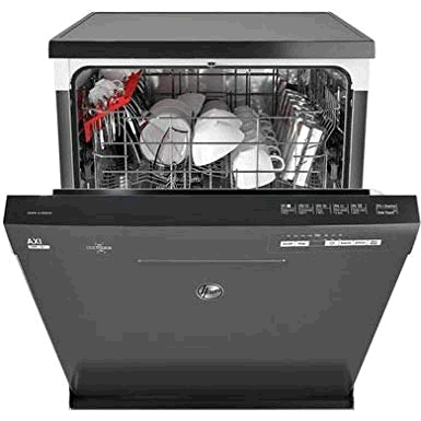 Hoover 13 Place Dishwasher With One touch Full Size Silver Graphite  A+
