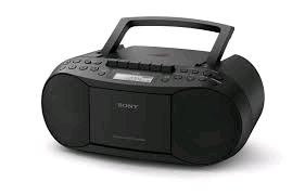 Sony Cassette Tape/CD Player/FM AM Radio Boombox