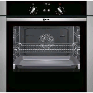 NEFF Built in Single Oven Slide and Hide Stainless and Black
