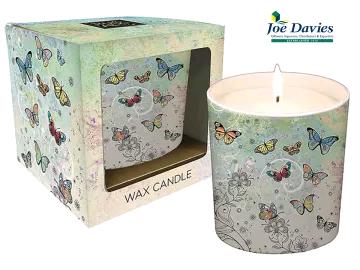 Joe Davies 3340209 Bug Art Candle Pot Butterflies x 1 BG0091