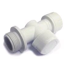 "Polypipe PolyFit 15mm x 3/4"" Appliance Valve"