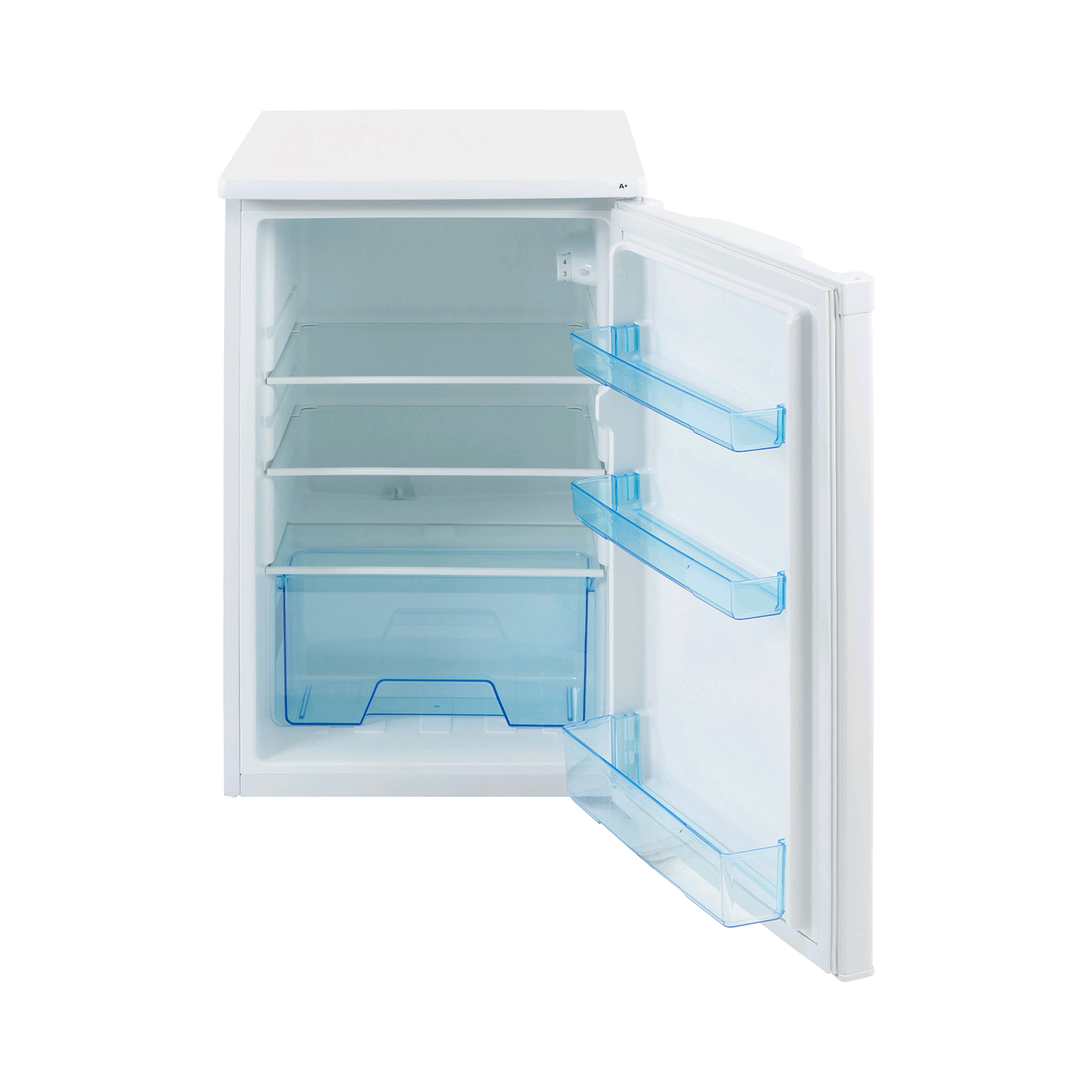 Lec White Larder Fridge 3.95cft H845 W501 D540mm A+ Energy