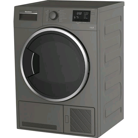 Blomberg Condenser Tumble Dryer 8kg in Graphite