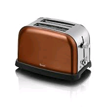 Swan 2 Slice Toaster Metallic Copper