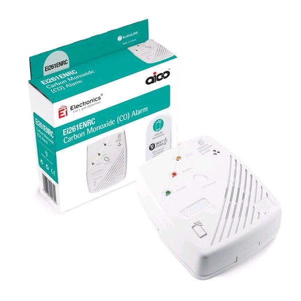 Aico Mains CO Alarm Rechargable Battery RC