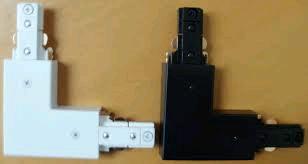 JCC Mainline L Track Connector White