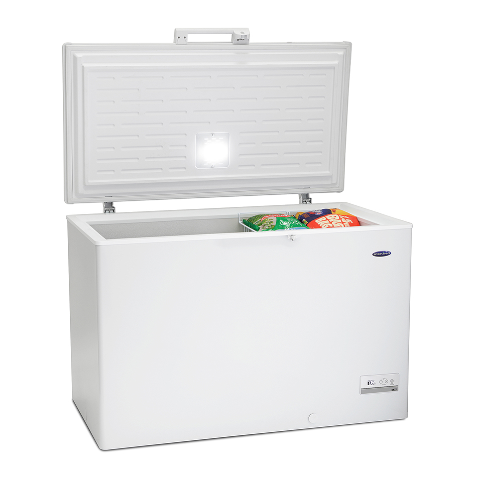 "Iceking 13cuft Chest Freezer A+ Energy H845 W1240(49"" Wide) D745cm"
