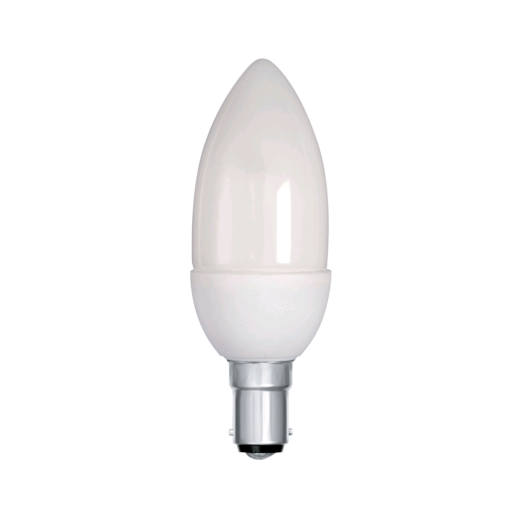 Lamp Low Energy Candle 7w SBC 40W