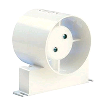 "Manrose 4"" 100mm Inline Fan With Timer and Bracket"