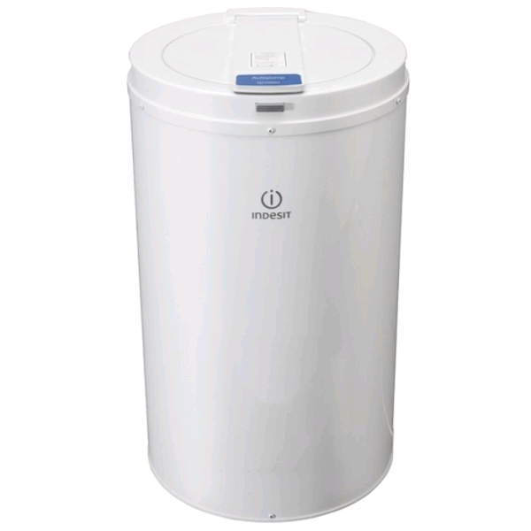 Indesit White Pump Spin Dryer 4kg W345 D345 H620mm