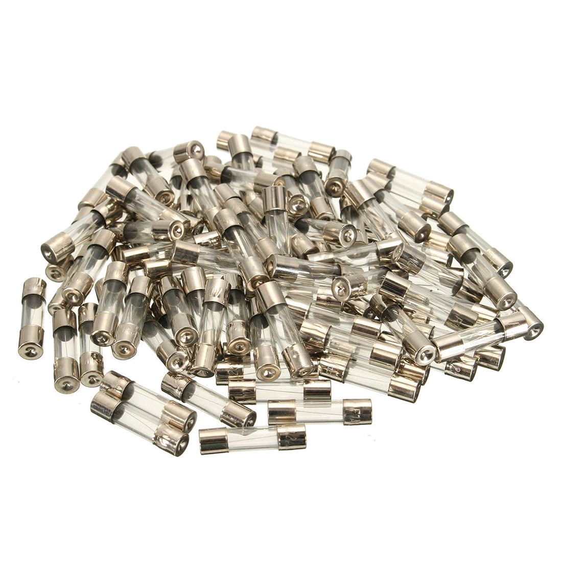 Glass Fuse 500mA 5 x 20mm (F) Quick Blow Glass 250V
