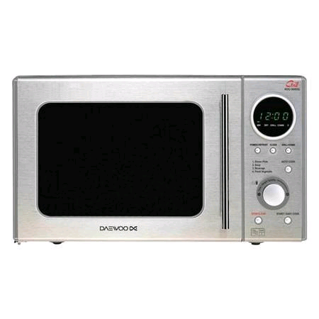 Daewoo Duoplate Touch Micvrowave 20L Stainless steel