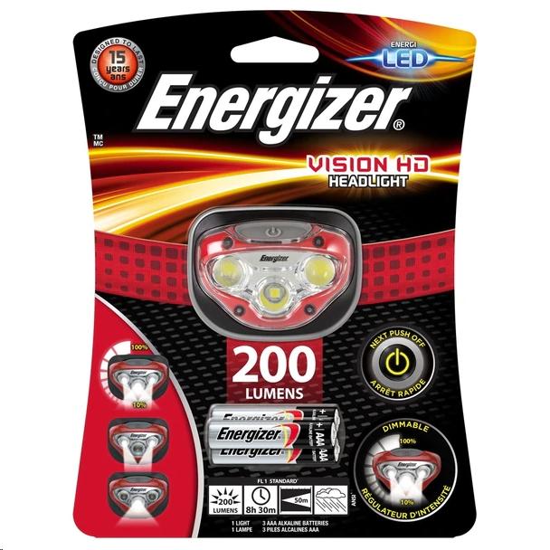 Energizer Vision HD Headlight HDB32 200Lms LP09071