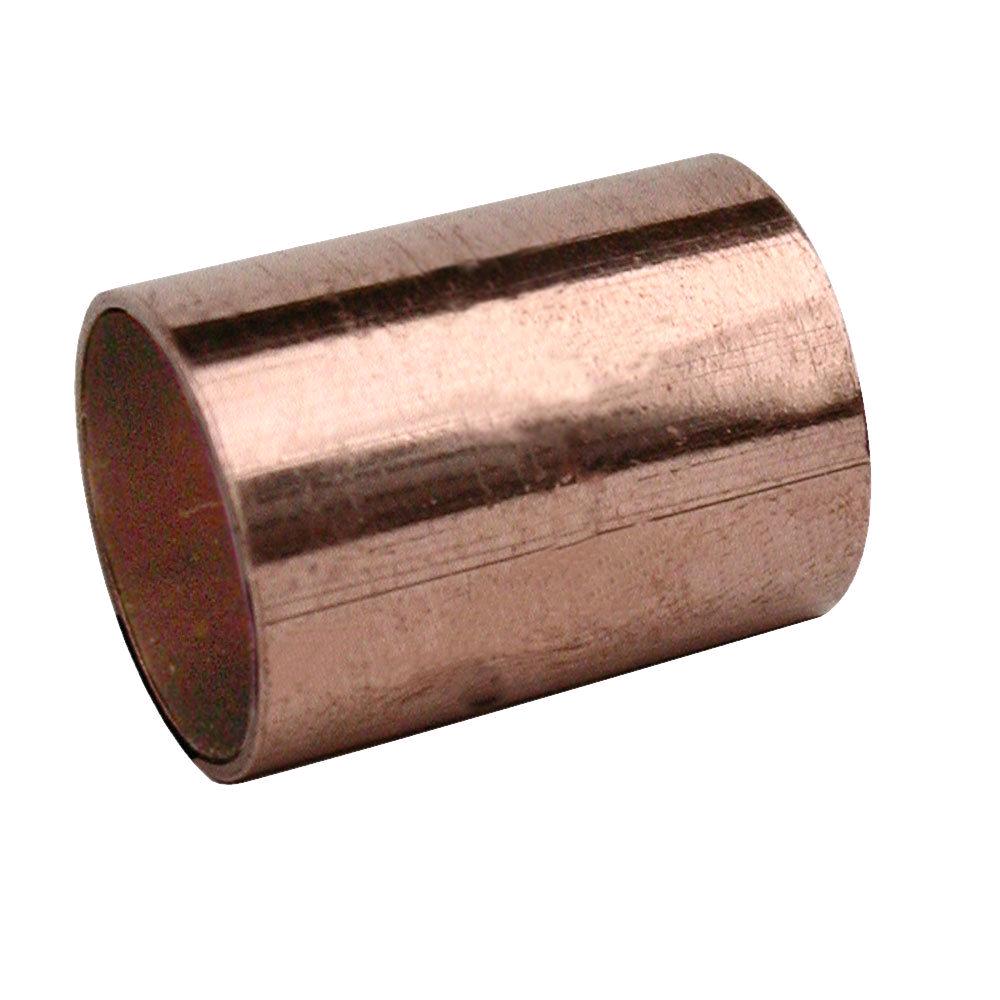 Copper 15mm Slip Coupler Endfeed
