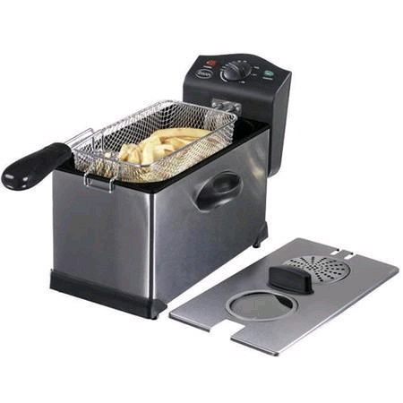 Swan Stainless Steel Fryer 3Ltr with Window
