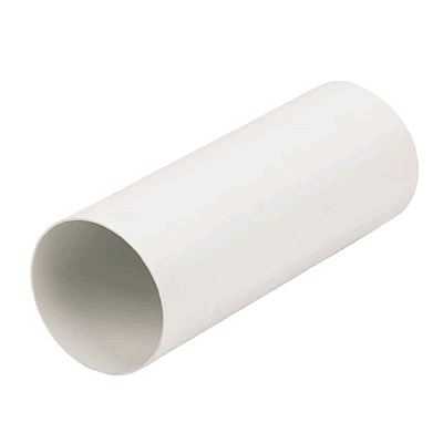 "Manrose 6"" Round Ducting 2000mm Long White"