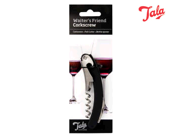 TALA 7213769 Waiters Friend Corkscrew Stainless Steel 10A30020