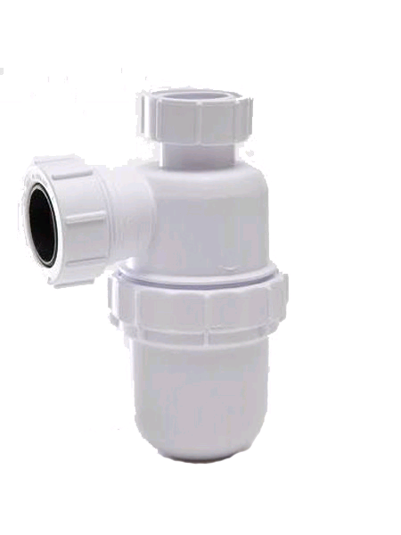 Polypipe Bottle Trap 40mm. 75mm Seal