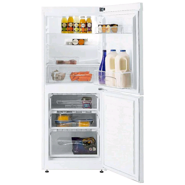 Hoover 111Lfridge/62L freezer 3 drawerWhite A+ Manual Defrost H 1360 W 550 D 580